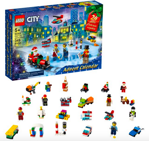Lego Metropolis Advent Calendar Lone $23.99!
