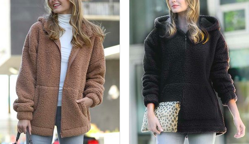 Snuggly Sherpa Jackets Lone $15.99!