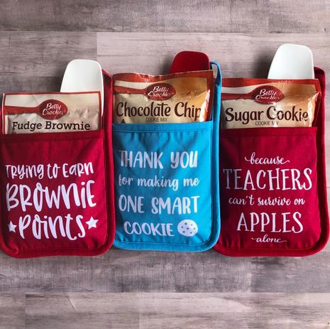 Teacher Pot Holder Gift