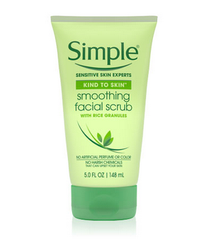 Escaped Example Of Elemental Smoothing Facial Scrub!