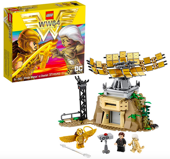 Lego Dc Wonderment Female Vs Cheetah Lone $28.24 Shipped!