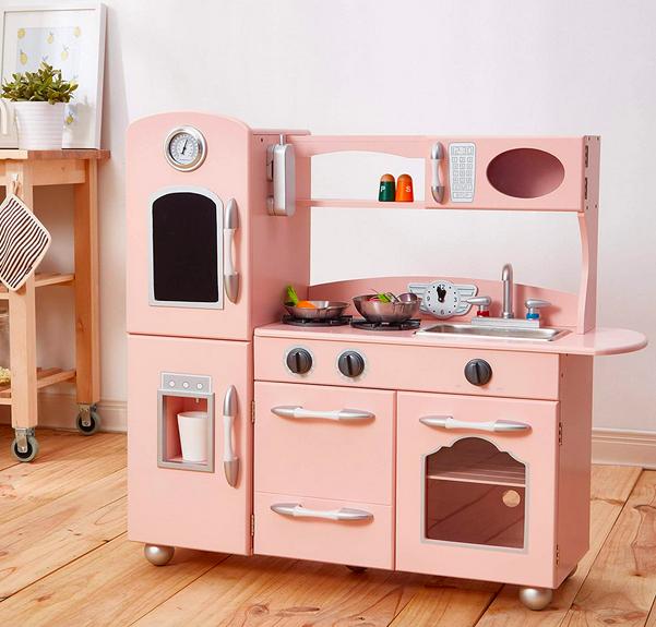 Teamson Kids - Retro Play Kitchen