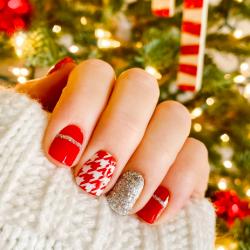 Holiday Nail Polish Wraps