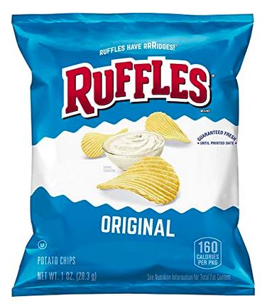 Ruffles First Murphy Chips (battalion Of 40) Lone $11.38 Shipped!