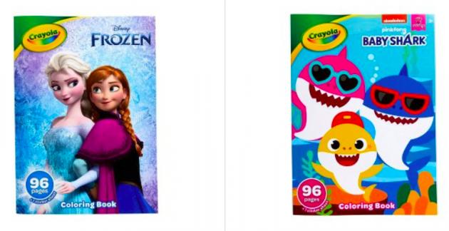 Crayola & Sticker Books Lone $1.59 {frugal Stocking Stuffer Idea!}
