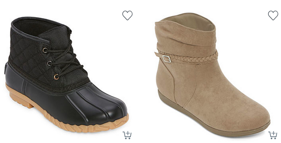 Jcpenney: Women's Boots As Low As $18.74!