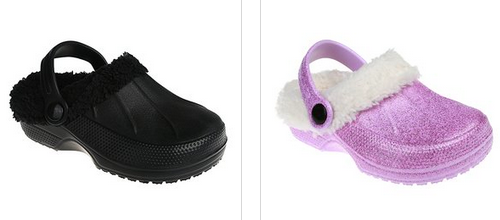 Toddler And Kid's Fleece-lined Clogs Lone $7.99   Shipping!