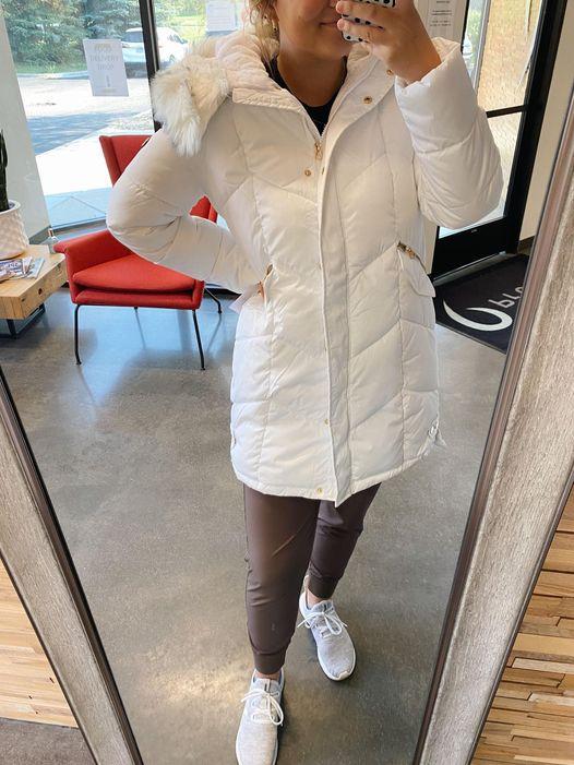 Jessica Simpson Women's Agelong Puffer Fur Hood Coat Lone $59 Shipped (reg. $225!)